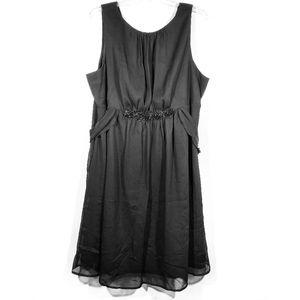 Lane Bryant Chiffon layered tank dress NWT 26